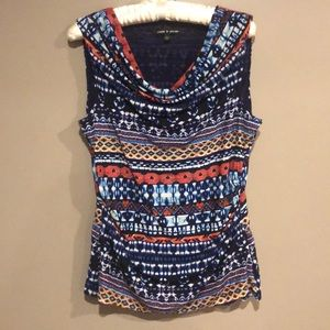 2/$15 🎀 CABLE & GAUGE SLEEVELESS BLOUSE